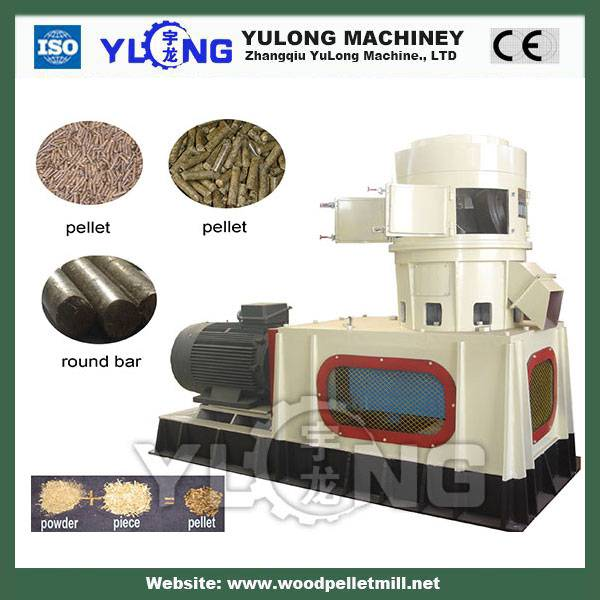 diesel engine wood pellet machine/small pelleting mill machine/briquette pellet machine