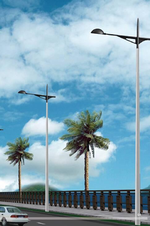 Aluminum Street Lighting Pole M-LF