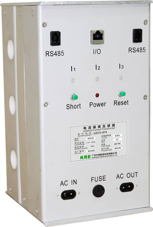 Low Power Consumption Isolation Current Transformer Three Phase with Unused Position By-pass
