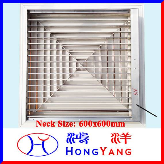Large Size Electric Square Air Diffuser