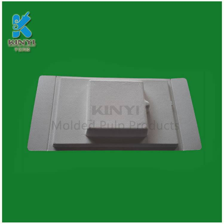 Biodegradable bagasse pulp disposable paper tray