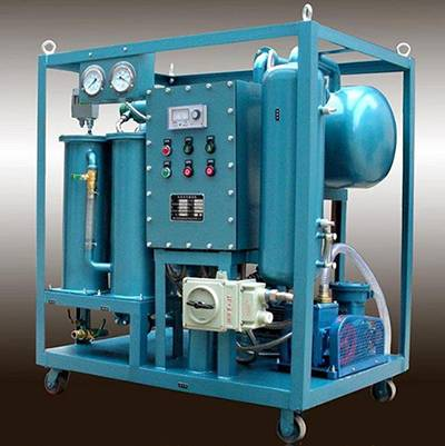 High Vacuum Transformer Oil Filter Machine