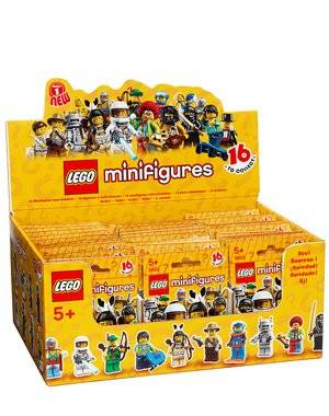 New Lego Minifigure Collection Series 1 Mystery Bag Box 60 Packs 8683