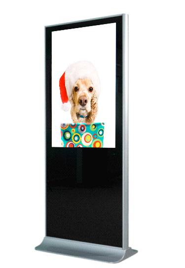 2015 Latest floor-standing 32inch advertising display with 3G/wifi