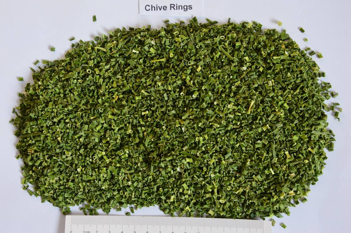 Dried chives rings/Dried chive