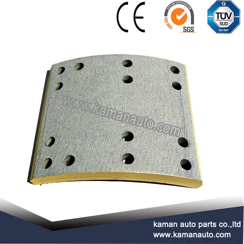 19094/0509127790/3057001300 BPW Asbestos Free High Quality Brake Lining for Trucks