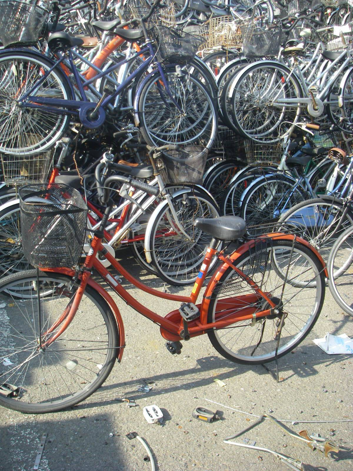 Japan used bicycles mountain bikes