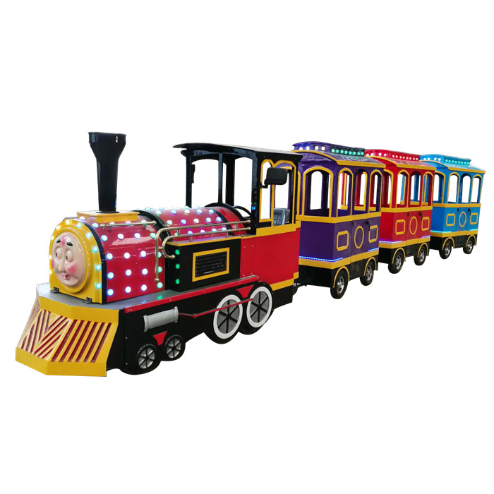 Electric mall train ride for sale