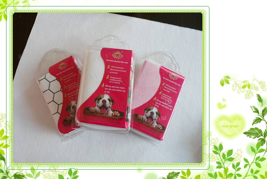 microfiber pets cleaning cloth/ pets cleaning towel
