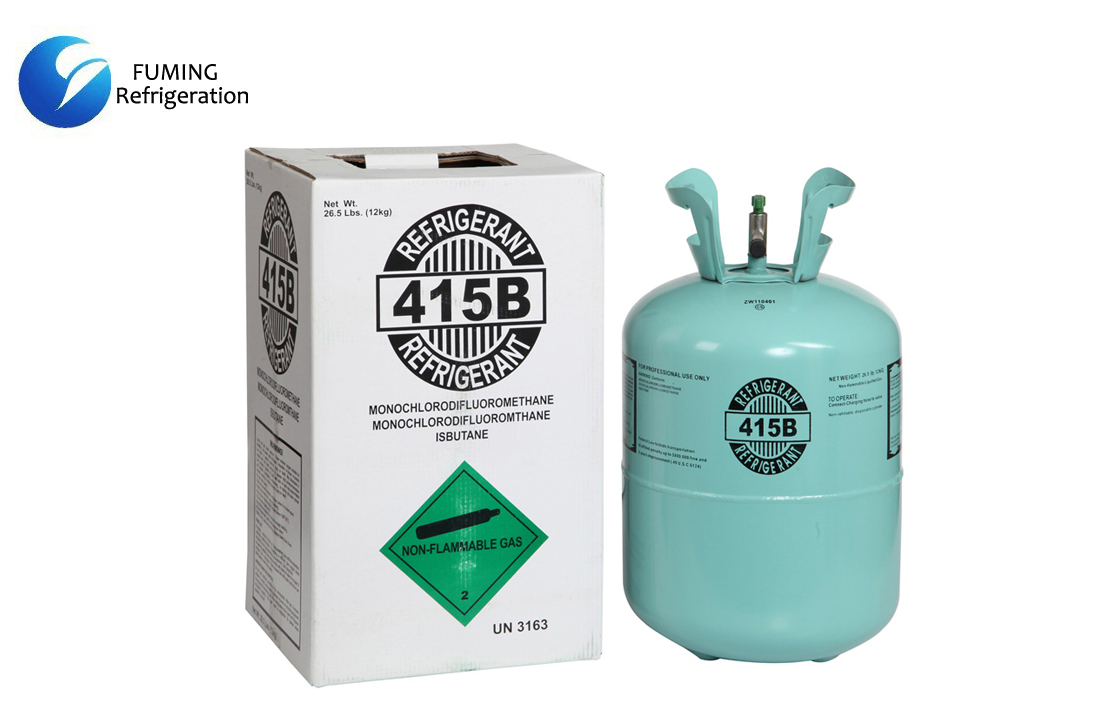 Mixed RefrigerantGas R415b in Disposable Cylinder for AC System
