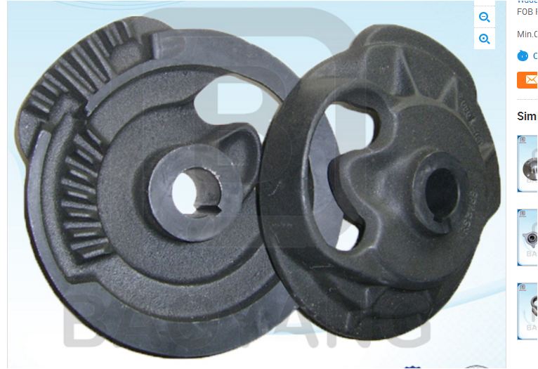 Made in China Ductile Iron Sand Casting Parts with High Quality