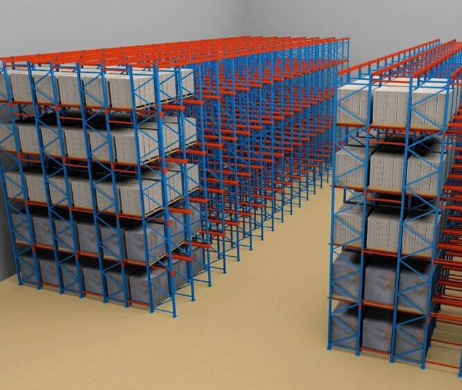 Factory Price Selective Drive in Pallet Rack