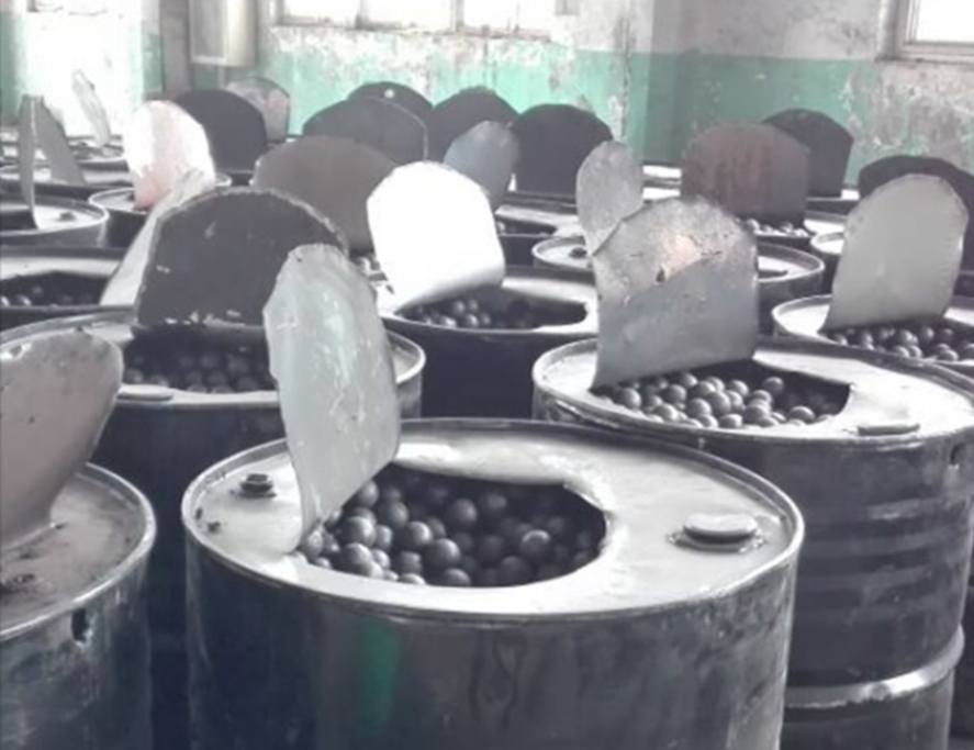 cast and forged steel grinding media balls for mines