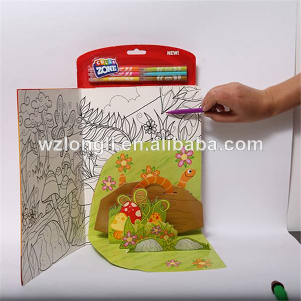pop-up book printing