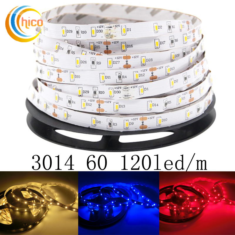 Project lights led strip lights SMD 3014 60 120 led/m led strip 12v led strip lights