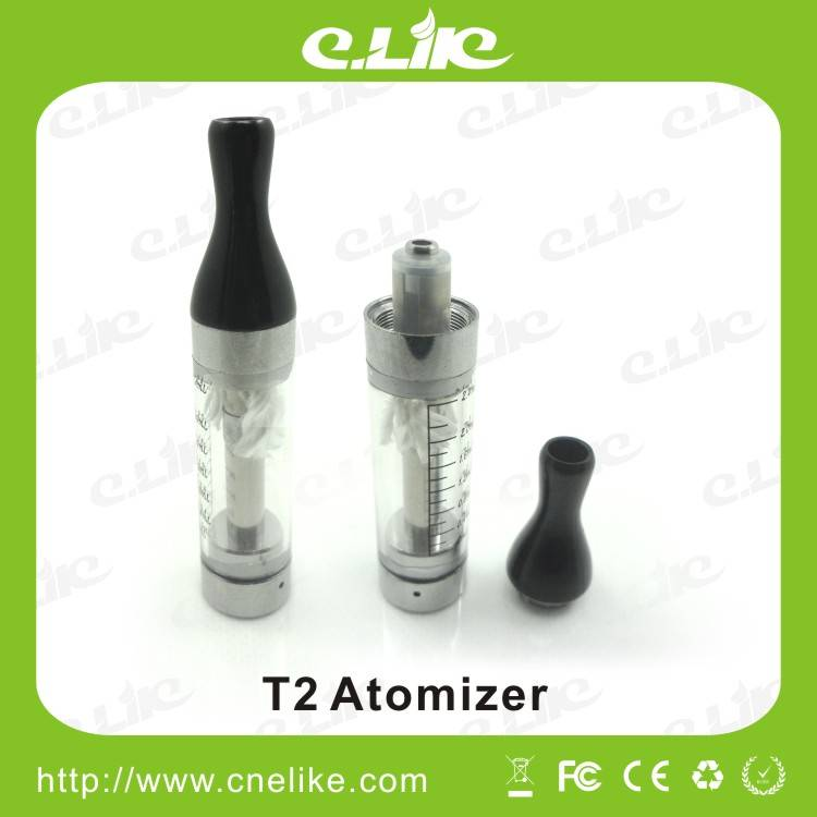 E-cigarette EGO T2 Atomizer 2.4 Ml Atomizer Capacity suit Evod/Ego Battery
