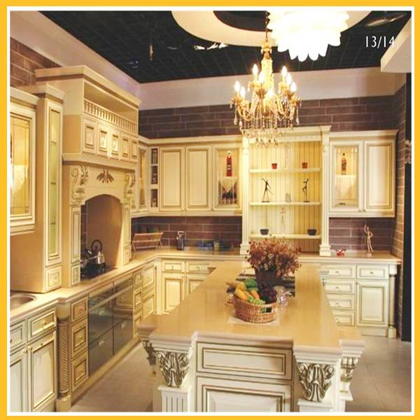 solid wood home kitchen cabinet kitchen furniture