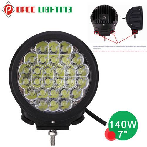 """Hotsale 7"""" Round Offroad 140W Led Driving Light"""
