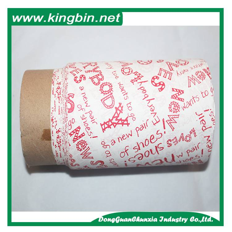 Tissue packing paper for shoes