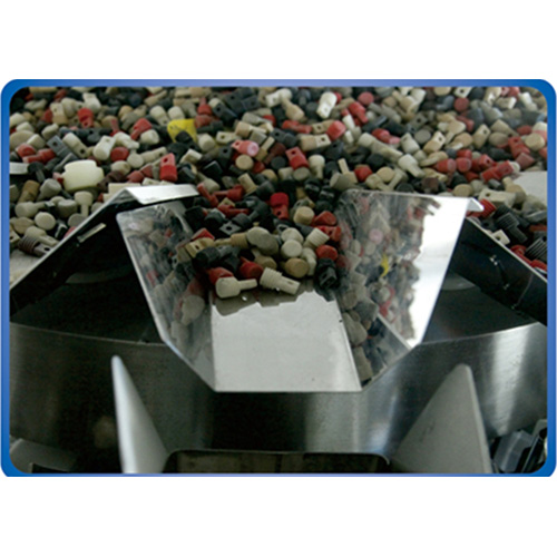 Electric Automatic Weighing Packaging Machine with 10 Head Multihead Weigher for Potato Chips
