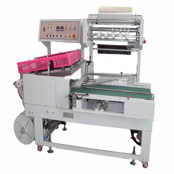 L500 from taiwan automatically induction curry box high speed shrink wrapping machine