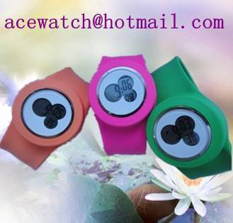 silicone watch (Mikey watches) silica gel wristwatches I