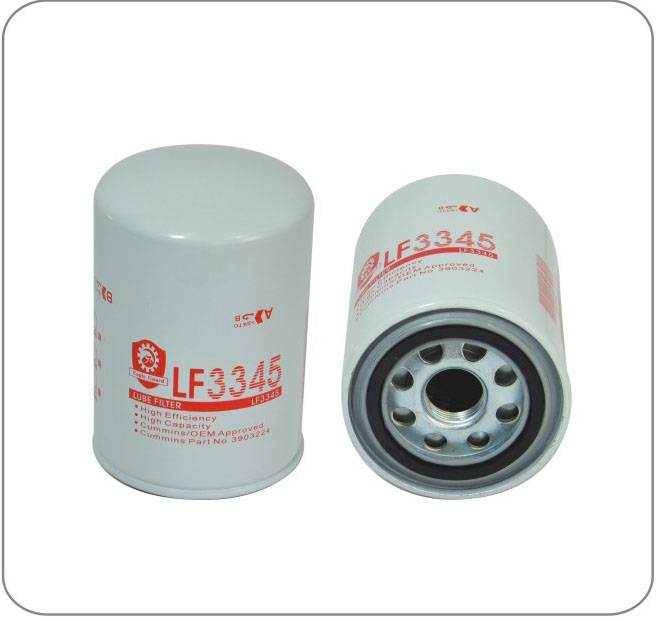 fuel filter Oil Filter LF3345 with lowest price and quality guaranteed