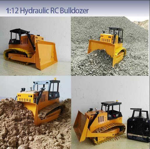 RC model 1:12 Hydraulic bulldozer