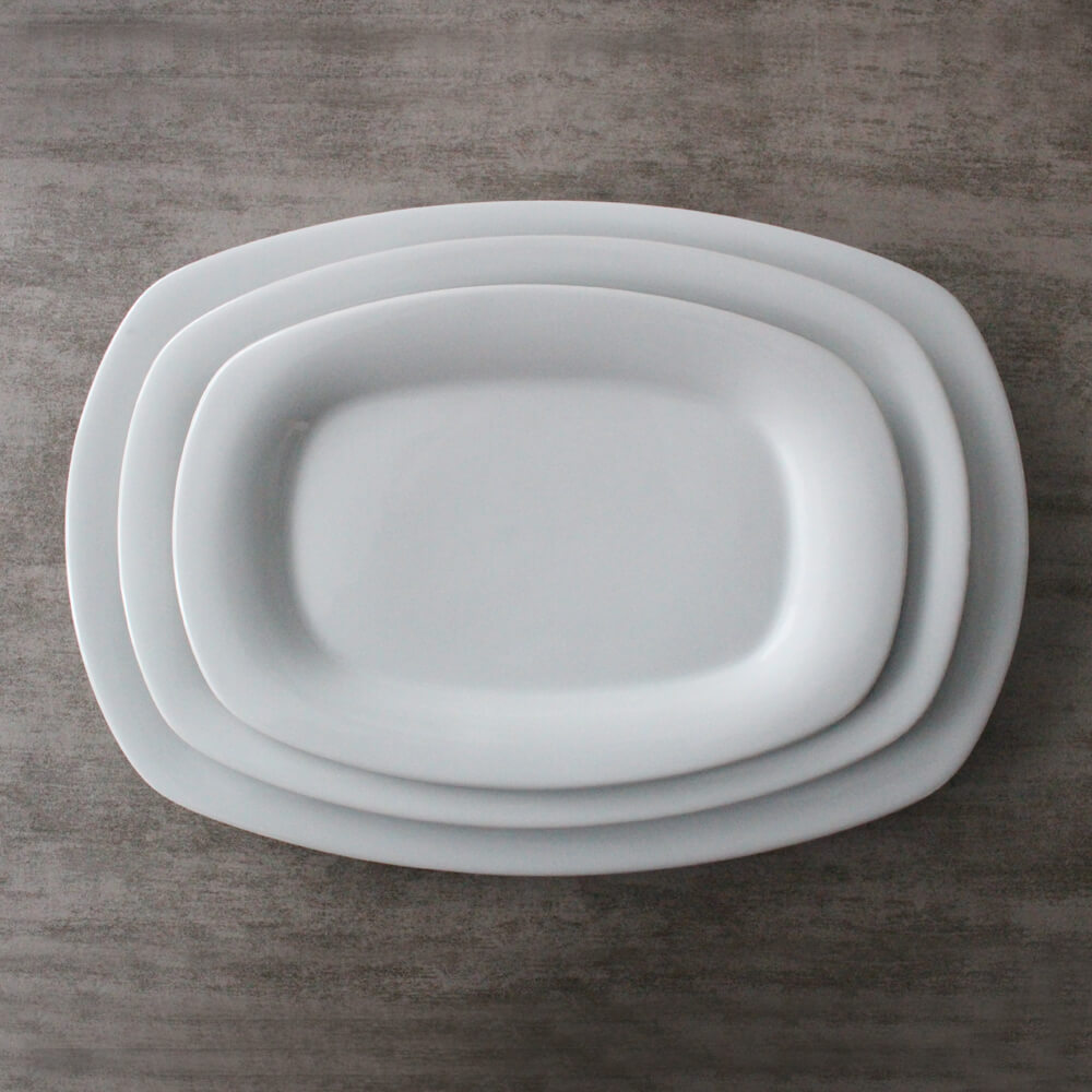 Rectangle Plates in 9 inch,12 inch,14 inch