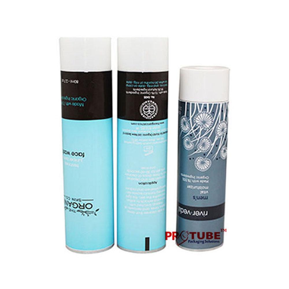 OEM service cosmetic packaging hand cream aluminum tube