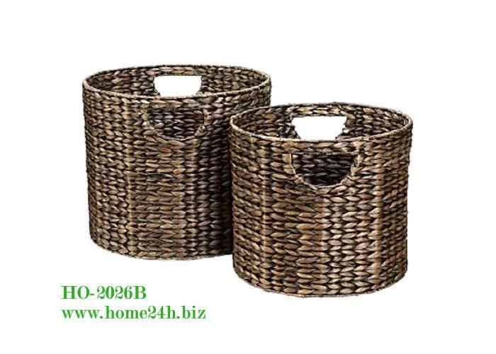 Best selling Water Hyacinth Basket Laundry