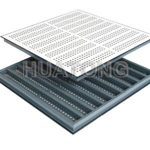 Hangtong perforated Panel without damper