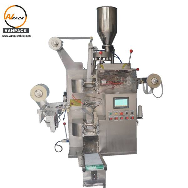 Automatic Inner Filter Bag with Envelope Tea Packing Machine