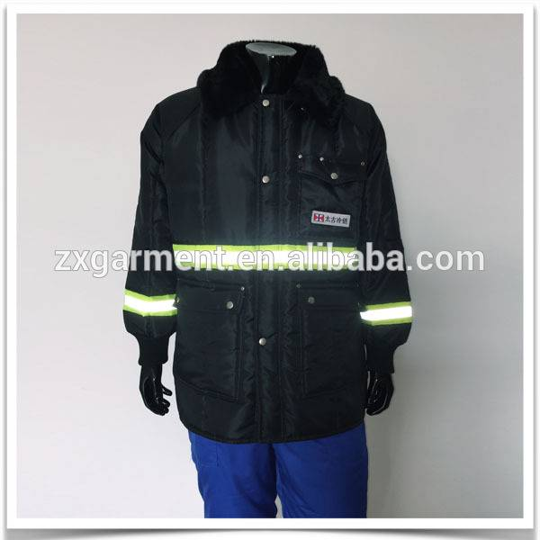 Deep freeze jacket with three levels of Luxbond insulation to suit Chill