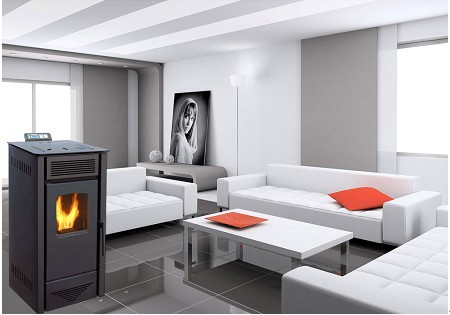 KJG-PS Pellet Stove with Remote Control