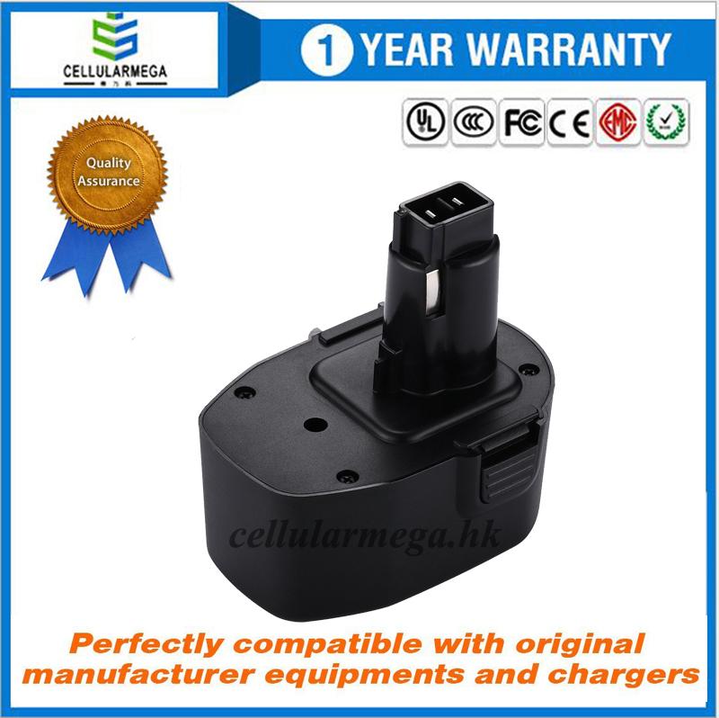 2500mah 14.4V Replacement Battery for Black & Decker PS140 FireStorm 14.4-Volt NiMH Pod Style Batter