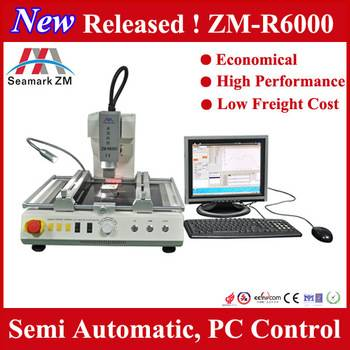 New released laser infrated bga rework station ZM-R6000