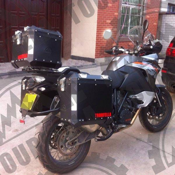 Tourfella alu.motorcycle luggage case for KTM 1190
