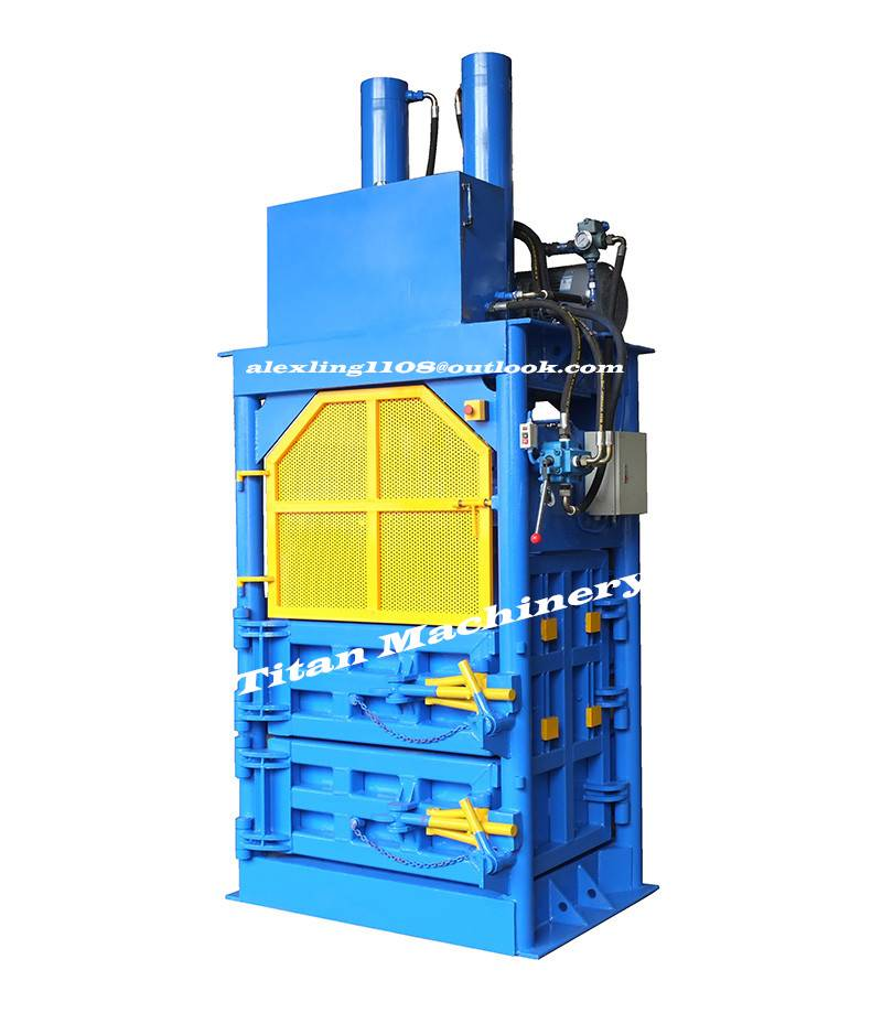 PET bottle plastic film baler baling machine
