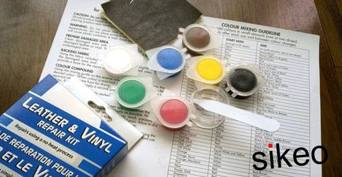 Liquid Leather and Vinyl Repair Kit