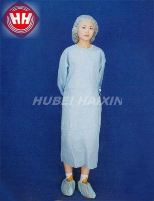 Disposable Nonwoven SMS Isolation Gown