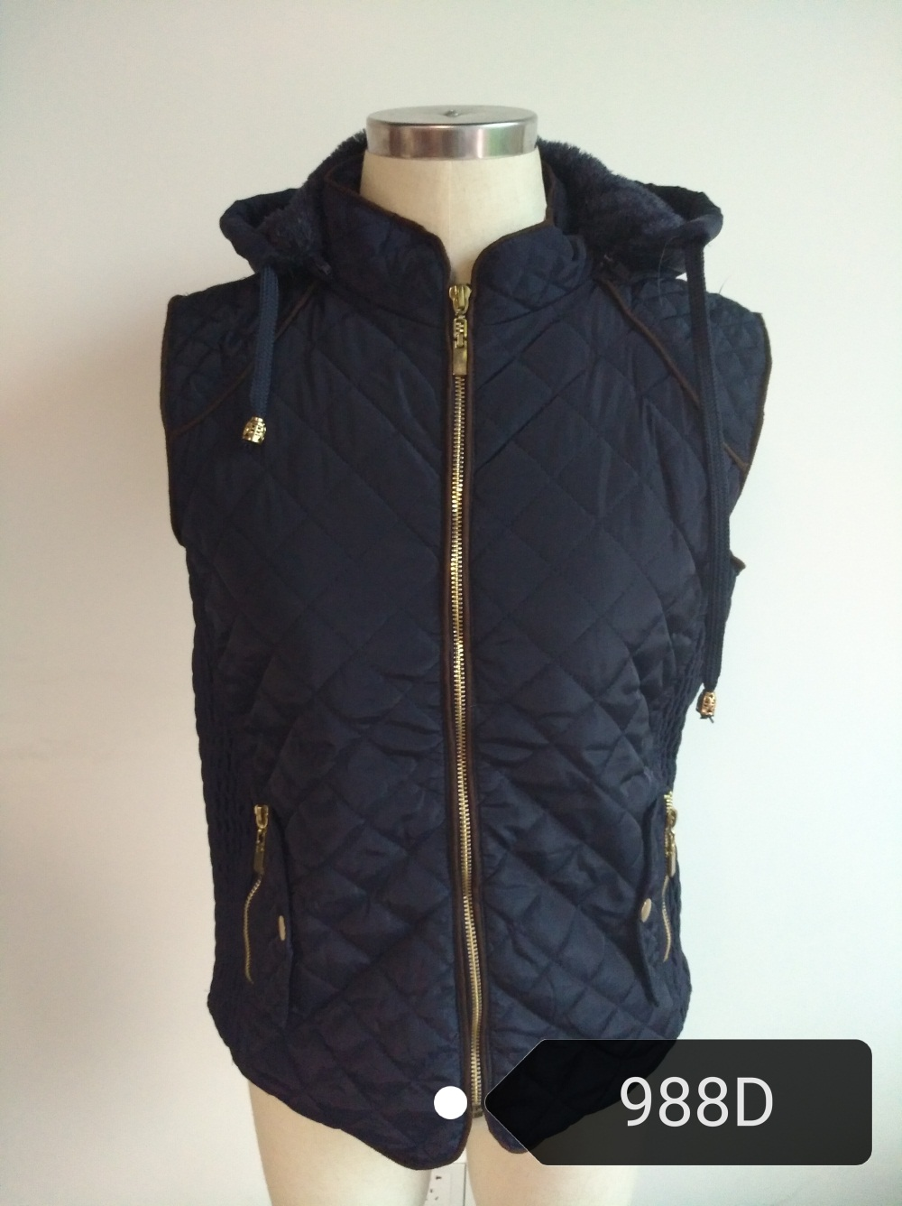 women vest,fashion vest,latest winter jacket for women 988D