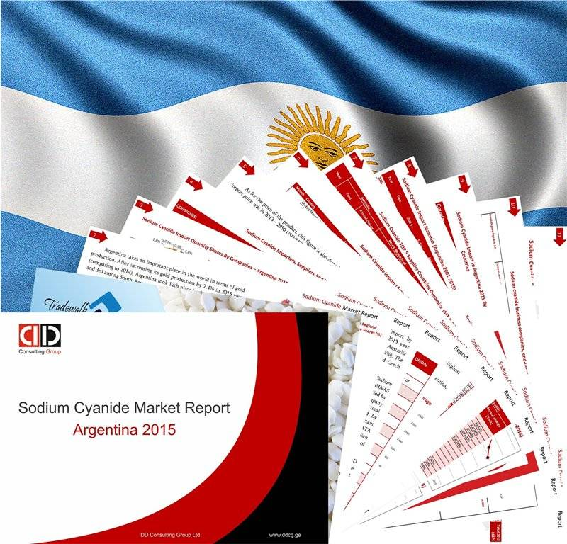 Sodium Cyanide Annual Summery Market Report ARGENTINA 2015