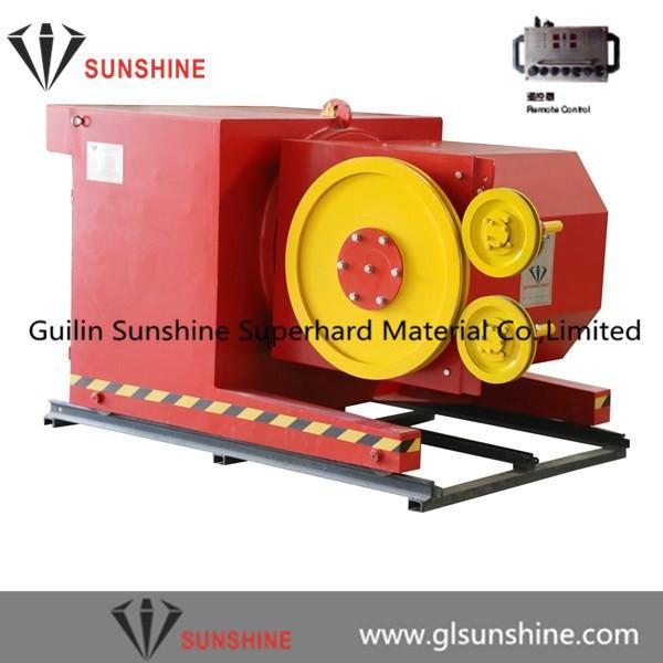 45kw 60cv diamond wire saw machine for marble quarries