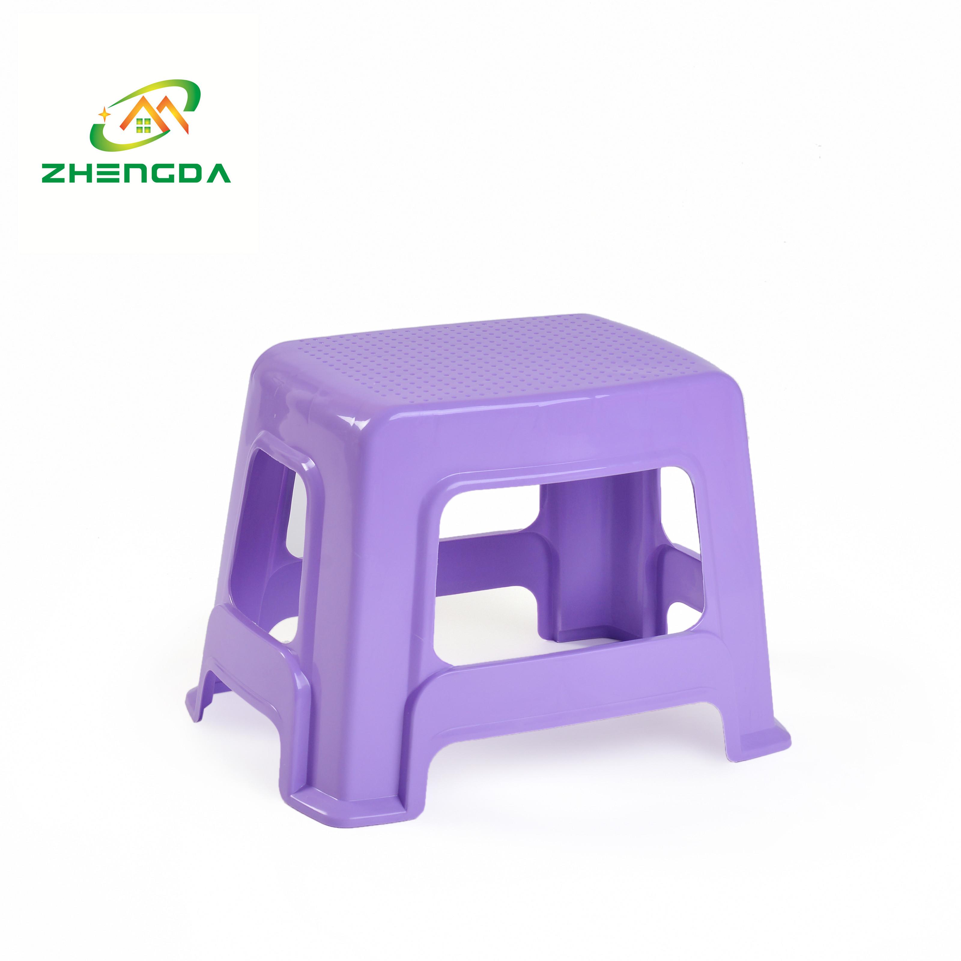 fashion bath stool square plastic child step stool