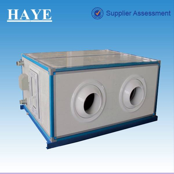 rated air flow volume:10500 cubic meter/h Remote Jet 4 pipes Air Handling Unit (AHU) for airport