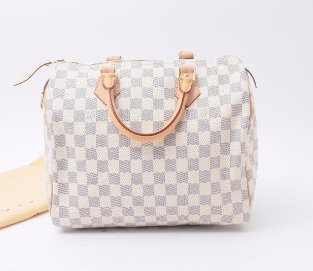 c290d37a585a Used designer Brand Handbag LOUIS VUITTON N41533 Speedy 30 Damier Azur  handbags for Bulksale.