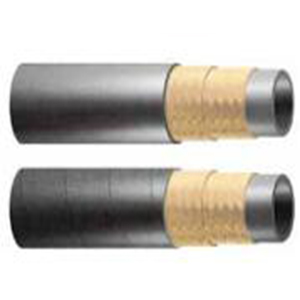 1/2 inch SAE100 black color fabric surface R2AT two wire braided medium pressure hydraulic rubber h