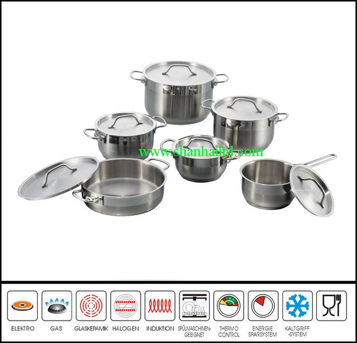 Top selling stainless steel golden dinner set