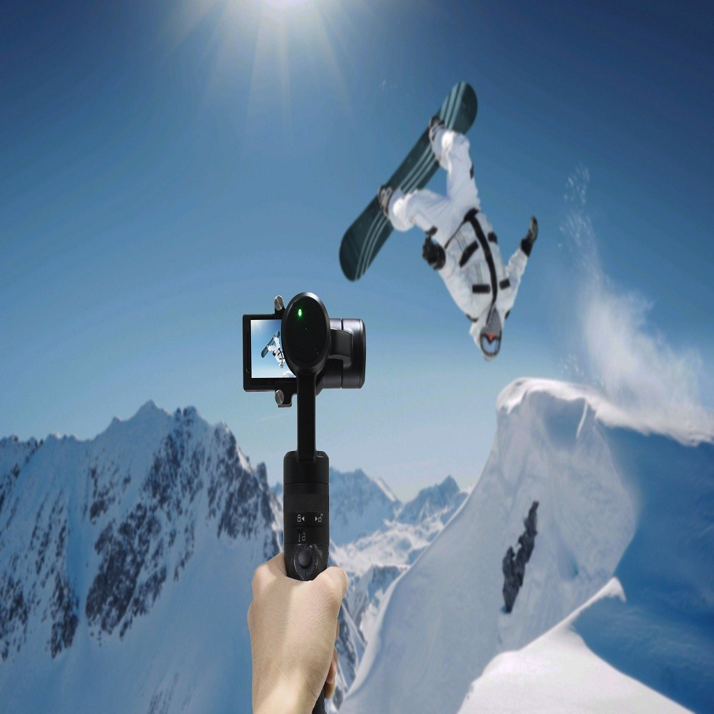 Shipping Free G3 3-Axis Gyro Handheld Gimbal Go Pro Stabilizer Sports Action Camera Stabilizer